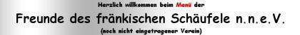Banner: Freunde des fränkischen Schäufele