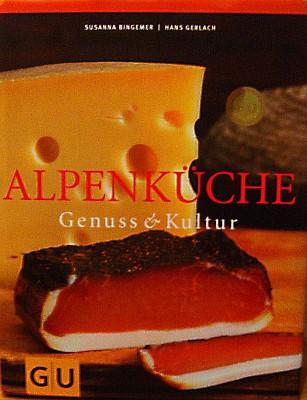 """Bucht-Titelseite """"Alpenküche"""""""